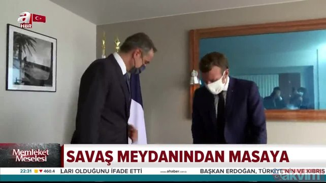 Başkan Erdoğan'dan Fransa Cumhurbaşkanı Macron'a geri adım attıran diplomasi | Video