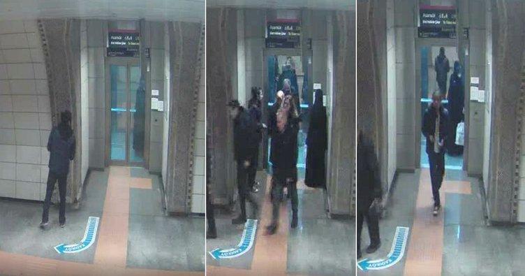 Metroda çirkin saldırı