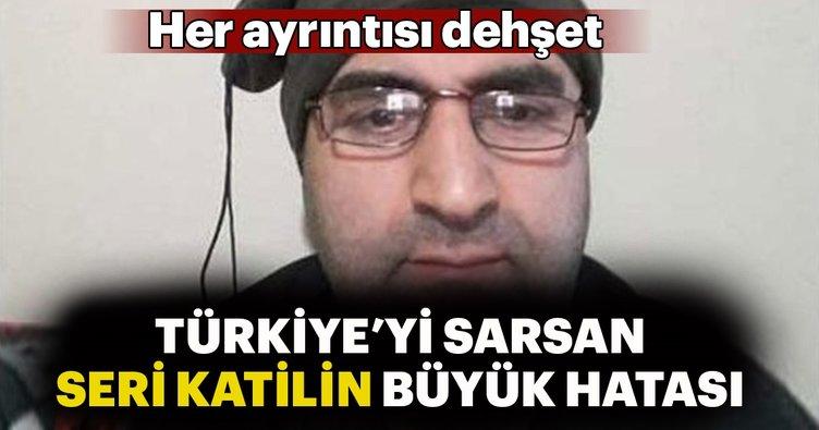 Türkiye'yi sarsan seri katili ele veren büyük hata...