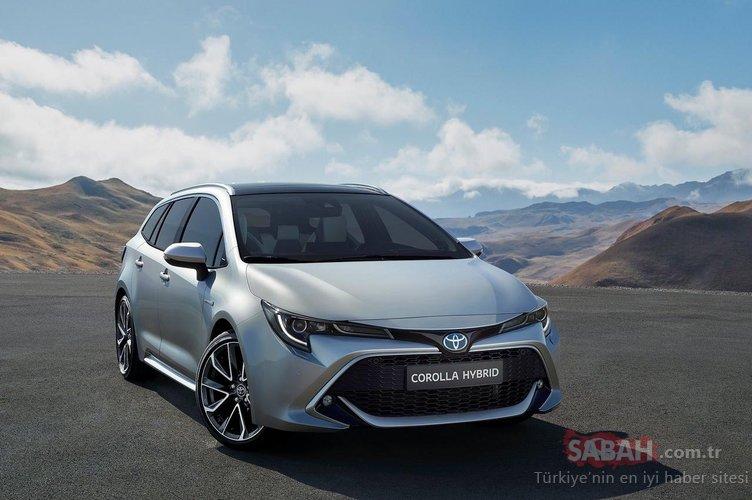 2019 Toyota Corolla Touring Sports bagaj hacmiyle dikkat çekiyor! İşte özellikleri...