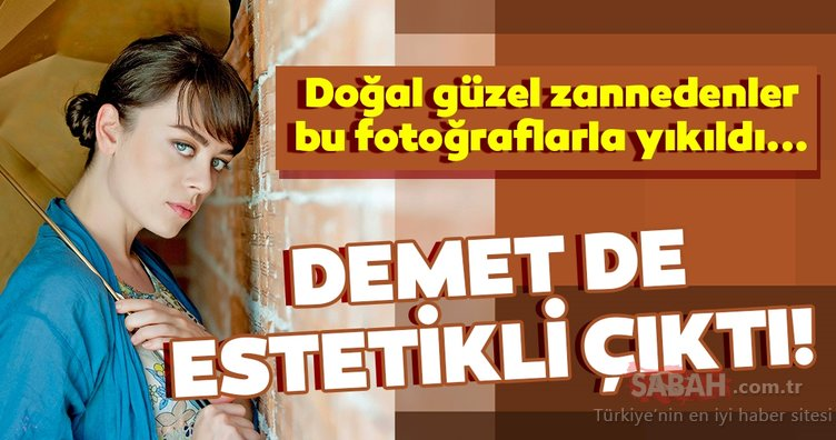 Alev Alev oyuncusu Demet Evgar da estetik harikası çıktı! Demet Evgar'ın yıllar önceki görüntüsü hayranlarını şaşırttı!