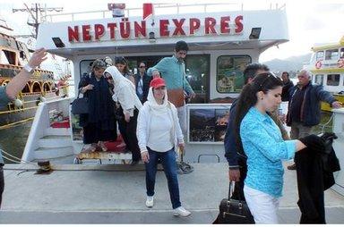 İranlı turistler Marmaris'e akın etti!