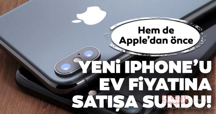 Yok artık! iPhone 11'i Apple'dan önce ev fiyatına satışa sundu!