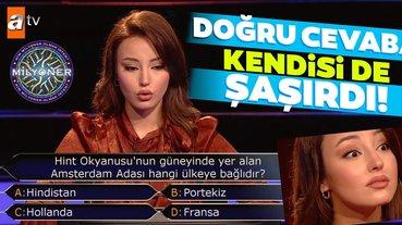 Doğru cevaba kendisi de şaşırdı! Kim Milyoner Olmak İster 894. bölüm soru ve cevapları