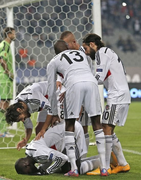 Beşiktaş - Partizan maçının fotoğrafları