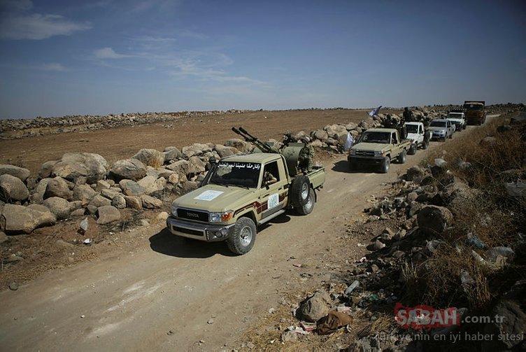 Son dakika: Suriye sınırında askeri hareketlilik