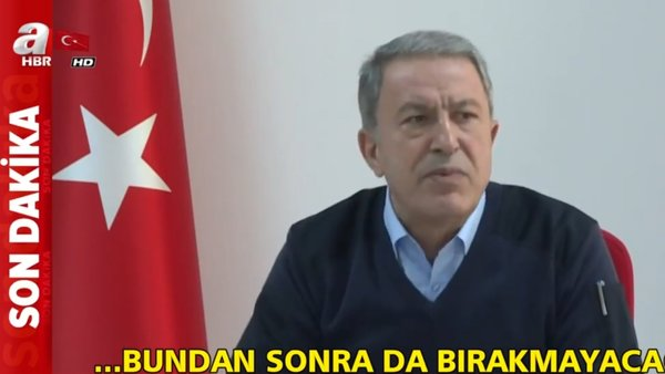 Milli Savunma Bakanı Akar'dan Bahar Kalkanı Harekatı ile ilgili yeni flaş açıklama | Video