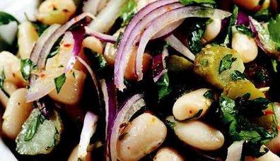 Kurufasulye Salatası