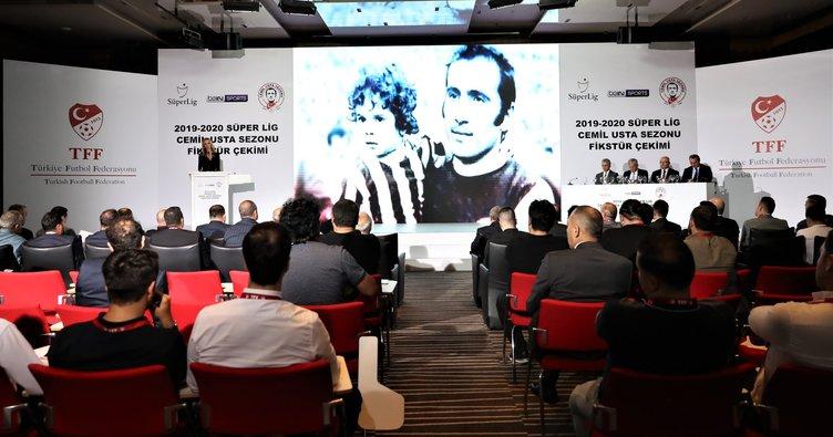2019-2020 Spor Toto Süper Lig sezonu fikstür çekimi yapıldı! İşte derbi tarihleri