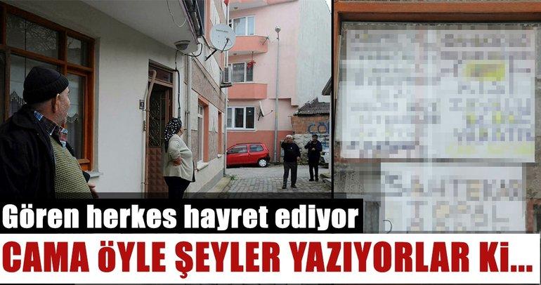 Son dakika: Edirne'de miras yüzünden küsen kardeşler 'duvar yazıları' üzerinden tartışıyor