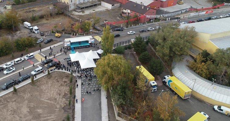 Erzurum'da Büyükşehir'in yatırım atağı devam ediyor