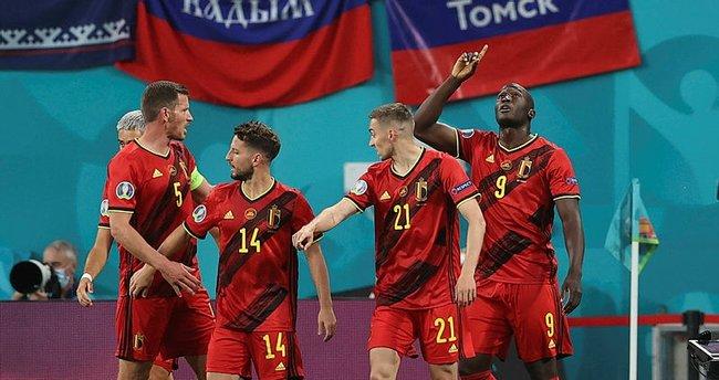 Belçika, Rusya'yı rahat geçti! Lukaku 2 golle fark yarattı...