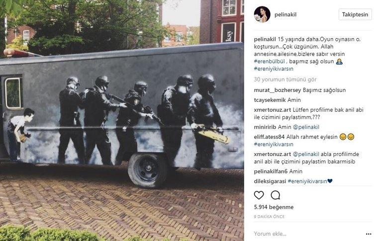 Ünlülerin Instagram paylaşımları (12.08.2017)