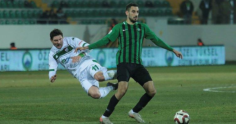 MAÇ SONUCU Akhisarpor 0 - 1 Bursaspor