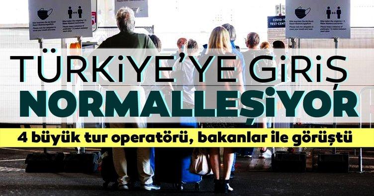 Türkiye'ye giriş normalleşiyor