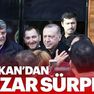 Erdoğan tarihi Çınaraltı'nda vatandaşlarşa sohbet etti