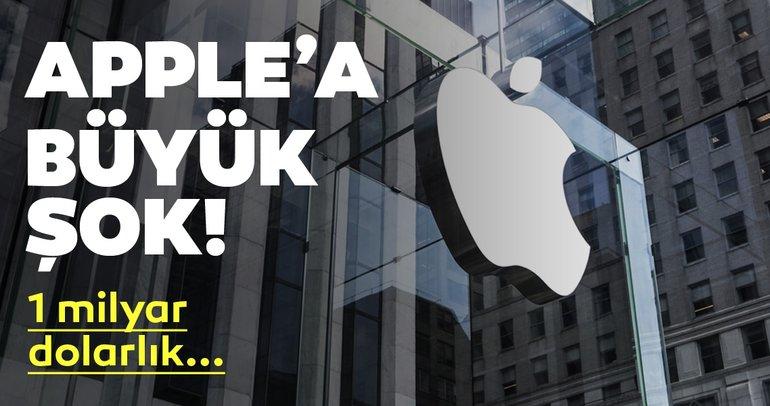Apple'a 1 milyar dolarlık dava şoku!
