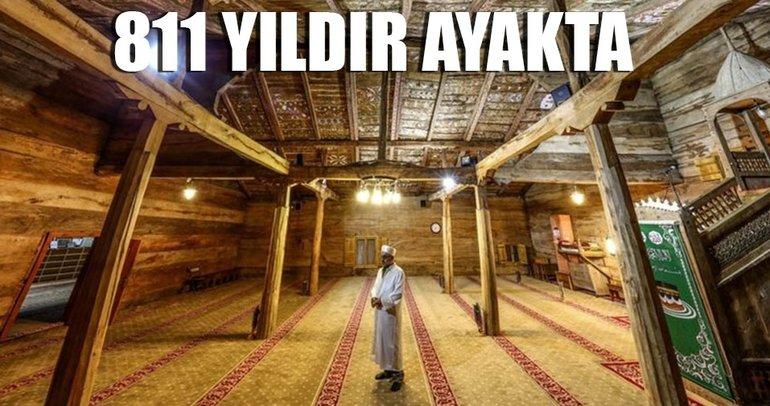 'Çivisiz cami' 811 yıldır ayakta