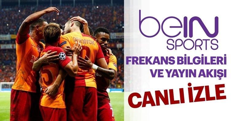 beIN Sports 6 Kasım bugün yayın akışı listesinde neler var? Bein Sports frekans bilgileri! Galatasaray maçı canlı izle