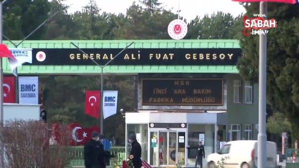 Bakan Akar, Altay Tankı'nın üretildiği fabrikaya geldi   Video