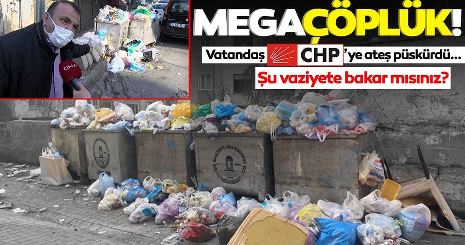 SON DAKİKA HABERLER: İstanbul Maltepe'de sokaklar çöplüğe döndü! Vatandaşlar CHP'li belediyeye ateş püskürdü! - Son Dakika Haberler