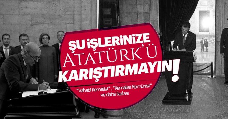 Engin Ardıç: Atatürk'ü bu işlerinize karıştırmayın da rahat uyusun