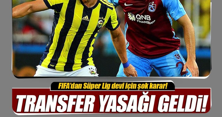 FIFA'dan Trabzonspor'a transfer yasağı!