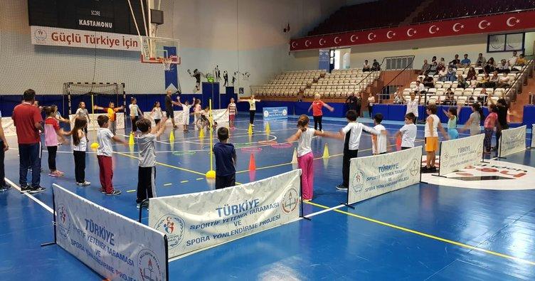 Türkiye Sportif Yetenek Taraması ve Spora Yönlendirme Projesi'nde 424 bin öğrenci tarandı