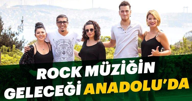 Rock müziğin geleceği Anadolu'da