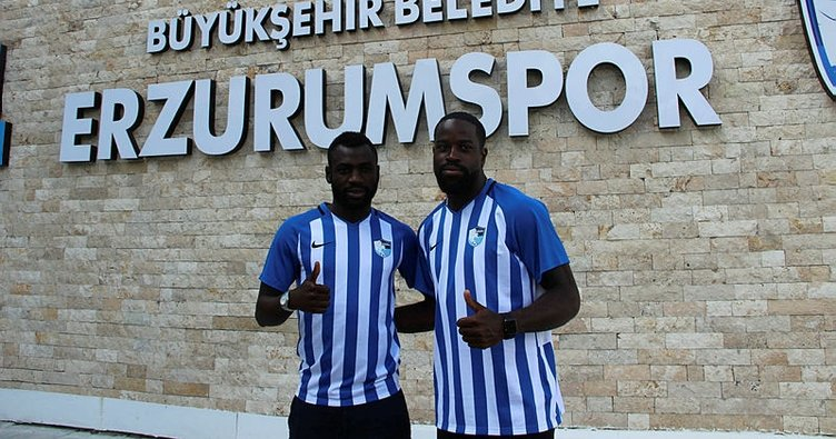 Erzurumspor'dan çifte transfer