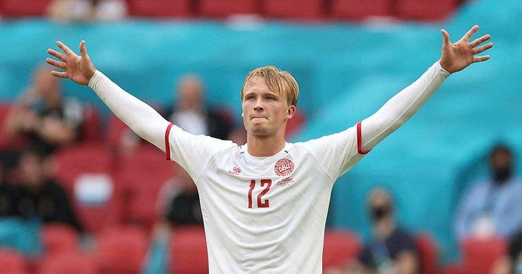Kasper Dolberg duble yaptı! Danimarka çeyrek finalde