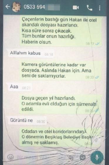 İşte Gülben Ergen'in telefonunda çıkan skandal yazışma...