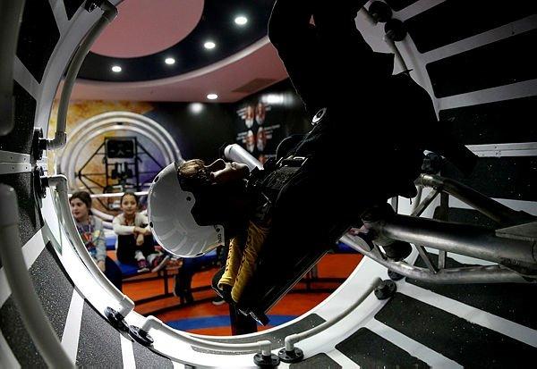Yarıyıl Tatilini Uzay Kampında geçirecekler