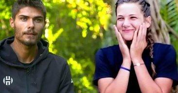 Son dakika haberler... İkilinin öpüşme görüntüleri sosyal medyayı salladı! Survivor Barış Murat Yağcı ve Nisa'dan olay görüntüler!