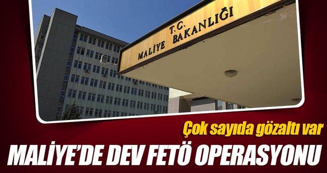 Maliye Bakanlığı'nda 36 FETÖ gözaltısı