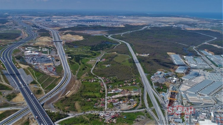 İstanbul Havalimanı metro hattı hızla ilerliyor