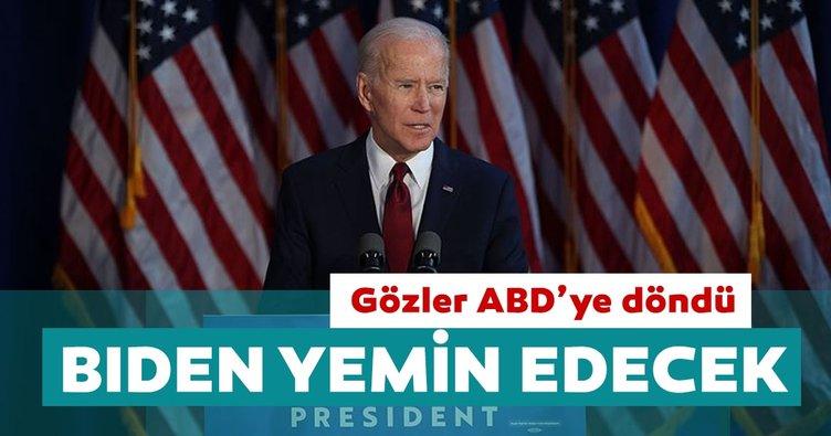 Küresel piyasalarda gözler ABD'ye döndü: Joe Biden yemin edecek