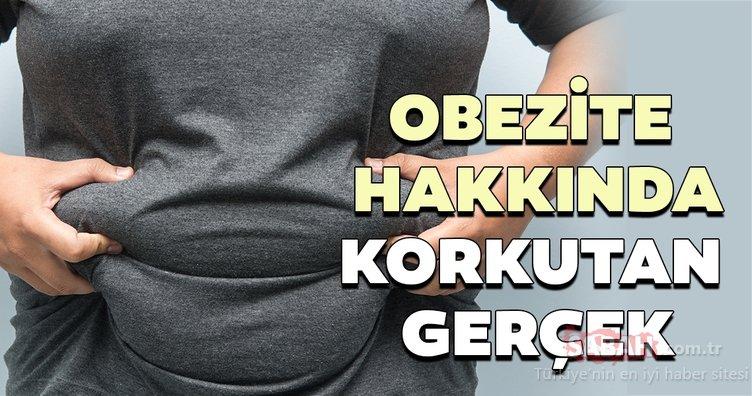 Obezite raporu açıklandı! İşte korkutan gerçek...