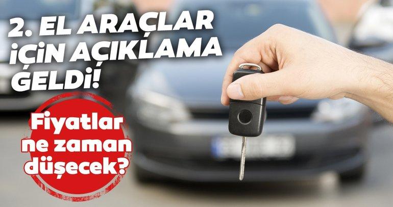 İkinci el araba fiyatları düşecek mi? 2021'de 2. el otomobil fiyatları ne olacak? Uzmanlar değerlendirdi