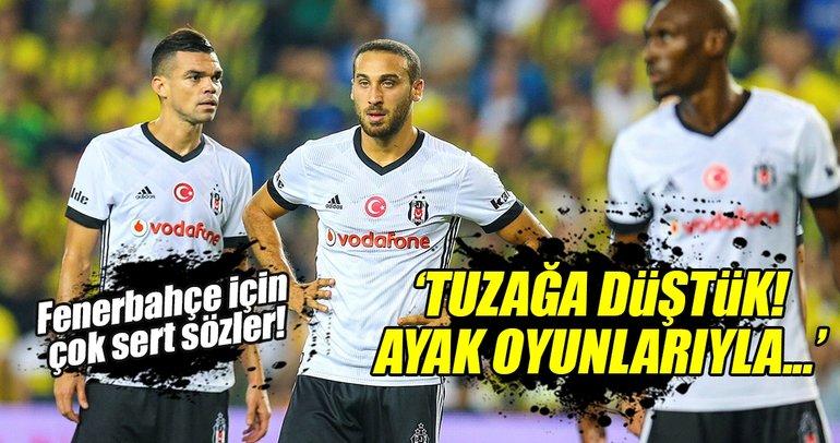 Cenk Tosun'dan Fenerbahçe'ye çok sert sözler!