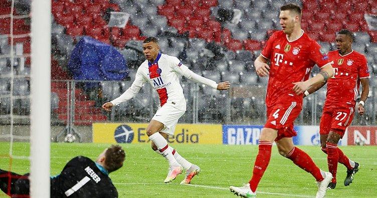 Şampiyonlar Ligi çeyrek finalinde gol düellosu! PSG Bayern Münih'i mağlup etti