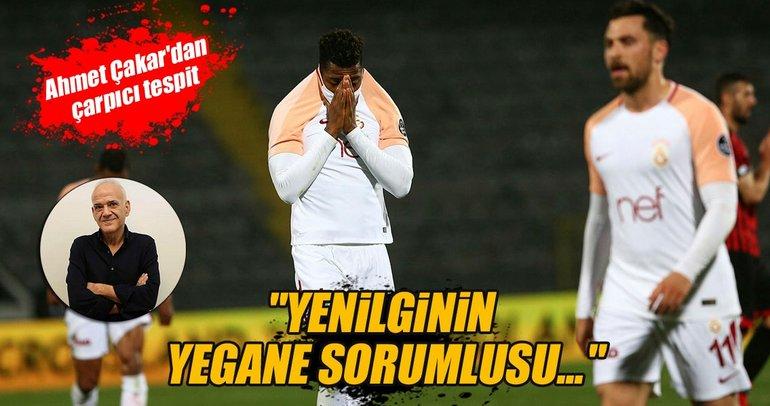 Ahmet Çakar: Sanki orta sırada bir takım!