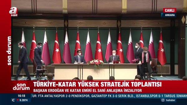 Son dakika! TürkiyeveKatararasında önemli anlaşmalar   Video