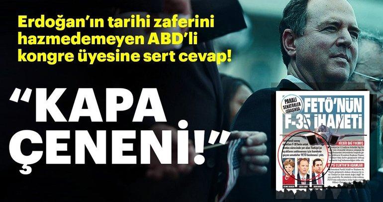 Son Dakika: İbrahim Kalın'dan ABD Temsilciler Meclisi Üyesi Adam Schiff'e sert tepki!