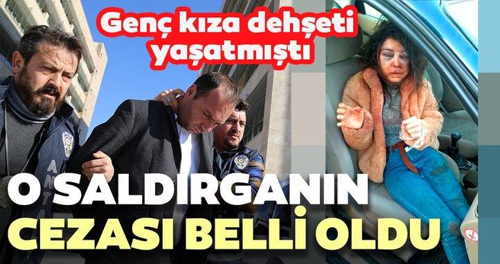 Antalya'daki saldırgana 20 yıl hapis