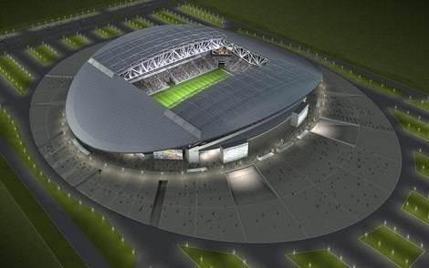 Astana Arena Stadyumu açıldı