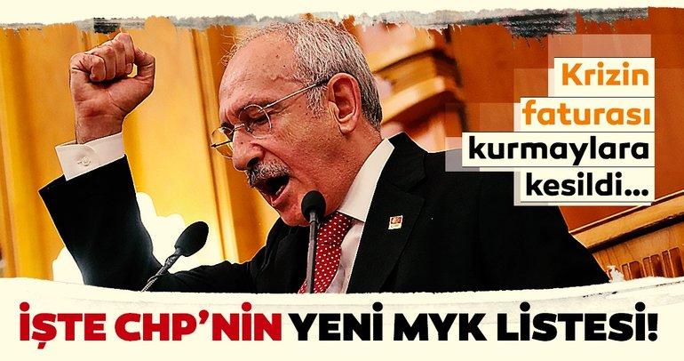 SABAH CHP'nin yeni MYK listesine ulaştı