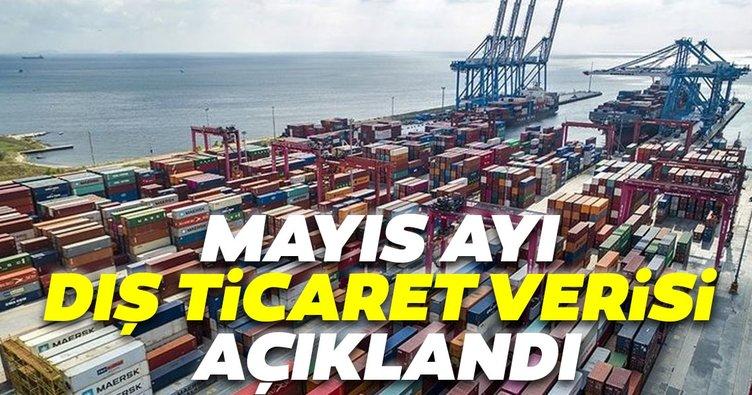 Mayıs ayı dış ticaret verisi açıklandı