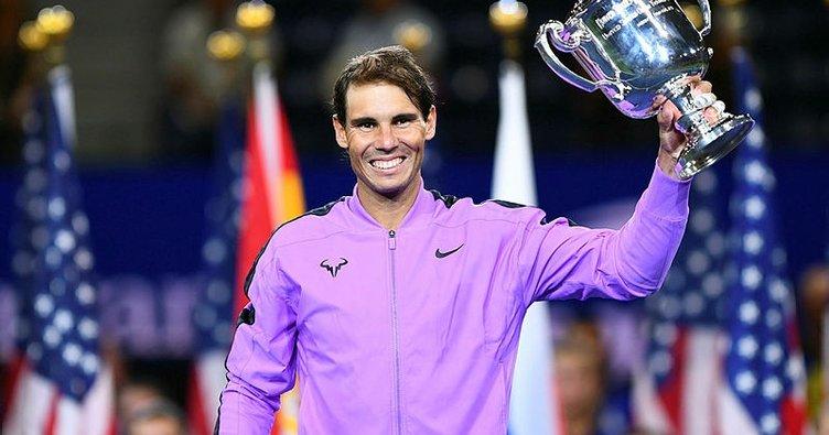 ABD Açık'ta şampiyon Rafael Nadal