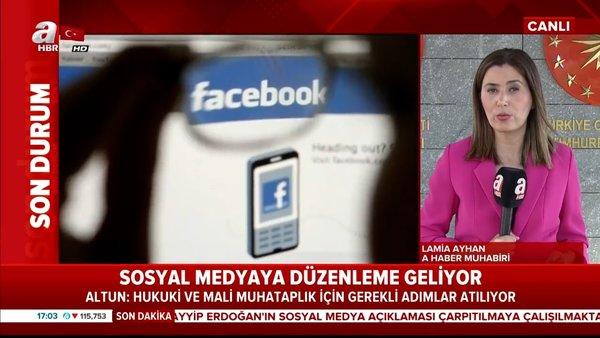 Son Dakika Haberi: İletişim Başkanı Altun'dan flaş sosyal medya açıklaması | Video